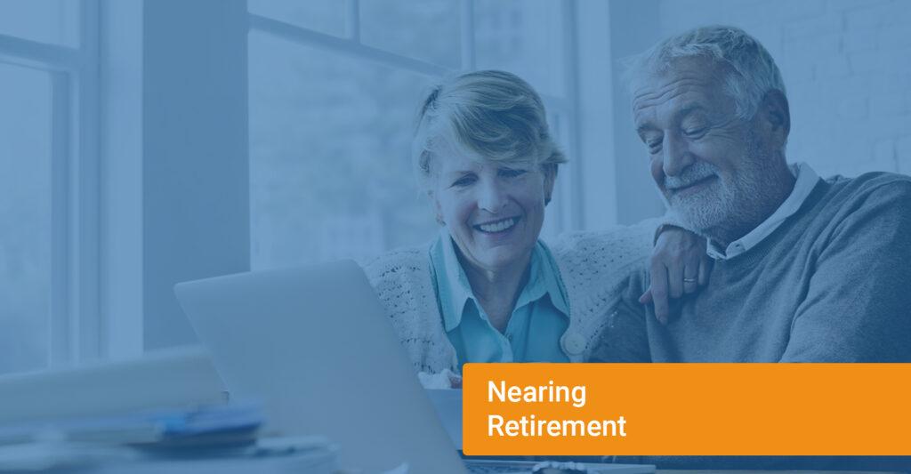 Older couple near retirement
