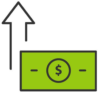 money increase
