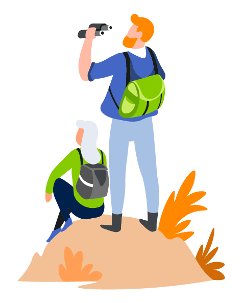 Explorers Illustration